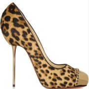 Christian Louboutin Leopard Pony Hair Metalipp 120 Pumps SZ 38 Lust4Labels 10