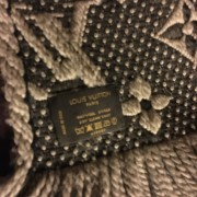 Louis Vuitton Monogram Wool Logomania Scarf Lust4Labels 3