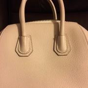 Givenchy Nude Pink Blush Sugar Calf Leather Mini Antigona Bag Purse Lust4Labels 13