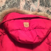 Mackage Romane Cherry Red Down Bomber Jacket XXS Lust4Labels 5
