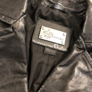 Mackage for Artizia Kenya Black Leather Frederica Vest XXS Lust4Labels 2