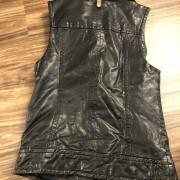 Mackage for Artizia Kenya Black Leather Frederica Vest XXS Lust4Labels 3