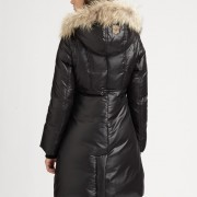 Mackage Classic Black Down Aurelia Fur Trimmed Puffer Jacket XXS Lust4Labels 2