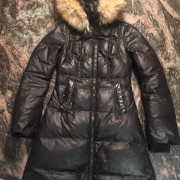 Mackage Classic Black Down Aurelia Fur Trimmed Puffer Jacket XXS Lust4Labels 3