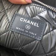 Chanel Classic Deauville Grey Denim Sequin Detail Clutch Pouch Lust4Labels 6