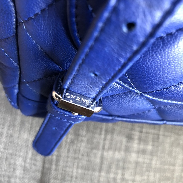 2aa6980dc50c lightbox · lightbox. prev. next. Chanel Classic Royal Blue Quilted Lamb  Leather Urban Spirit ...