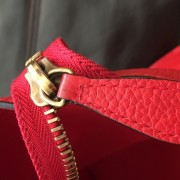 Celine Classic Red Leather Mini Luggage Tote Lust4Labels 13