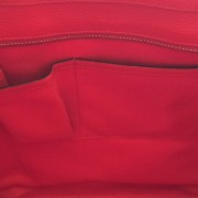 Celine Classic Red Leather Mini Luggage Tote Lust4Labels 16