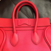 Celine Classic Red Leather Mini Luggage Tote Lust4Labels 17