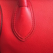 Celine Classic Red Leather Mini Luggage Tote Lust4Labels 19