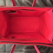 Celine Classic Red Leather Mini Luggage Tote Lust4Labels 4