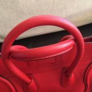 Celine Classic Red Leather Mini Luggage Tote Lust4Labels 8