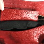 Balenciaga Classic Lipstick Red Lamb Leather City Bag Purse Lust4Labels 10