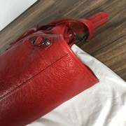 Balenciaga Classic Lipstick Red Lamb Leather City Bag Purse Lust4Labels 5