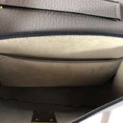 Chloe Drew Motty Grey Leather Small Shoulder Bag GHW Lust4Labels 6