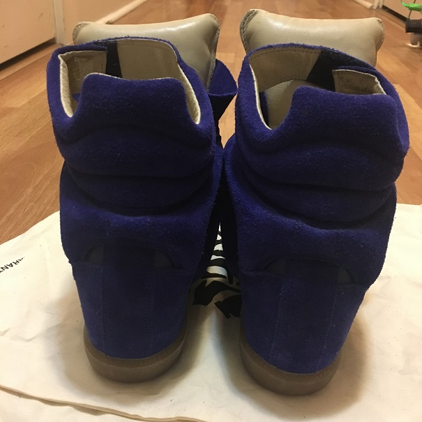 5da787d2cb94 ... Blue Suede Leather Bekett Sneaker Wedge Shoes SZ 37. Return to Previous  Page. Out. of stock. isabel marant bekett lightbox · lightbox · lightbox