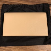 Yves Saint Laurent Nude Beige Leather Small Kate Clutch Bag GHW Lust4Labels 2