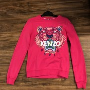 Kenzo Pink Pullover Tiger Sweater XS Lust4Labels 1