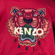 Kenzo Pink Pullover Tiger Sweater XS Lust4Labels 2