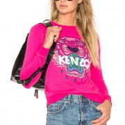 Kenzo Pink Pullover Tiger Sweater XS Lust4Labels 5