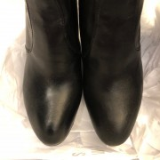 Stuart Weitzman Black Leather HIghland Thigh High OTK Boots SZ 7.5 38 Lust4Labels 2