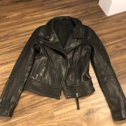 Mackage for Aritzia Classic Black Leather Moto Biker Kenya Jacket XXS Lust4Labels 1