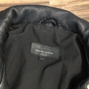 Mackage for Aritzia Classic Black Leather Moto Biker Kenya Jacket XXS Lust4Labels 2