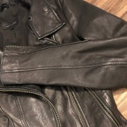 Mackage for Aritzia Classic Black Leather Moto Biker Kenya Jacket XXS Lust4Labels 5