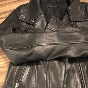 Mackage for Aritzia Classic Black Leather Moto Biker Kenya Jacket XXS Lust4Labels 6