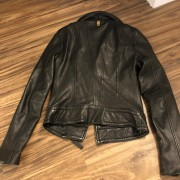 Mackage for Aritzia Classic Black Leather Moto Biker Kenya Jacket XXS Lust4Labels 7