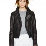 Mackage for Aritzia Classic Black Leather Moto Biker Kenya Jacket XXS Lust4Labels 9