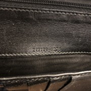Gucci Classic Black Coated Canvas Monogram GG Logo Continental Wallet Lust4Labels 5