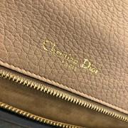 Dior Classic Rose Powder Pink Calf Leather Medium Diorama Bag GHW Lust4Labels 12