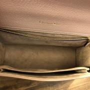 Dior Classic Rose Powder Pink Calf Leather Medium Diorama Bag GHW Lust4Labels 13