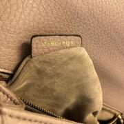 Dior Classic Rose Powder Pink Calf Leather Medium Diorama Bag GHW Lust4Labels 14