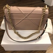 Dior Classic Rose Powder Pink Calf Leather Medium Diorama Bag GHW Lust4Labels 2