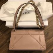 Dior Classic Rose Powder Pink Calf Leather Medium Diorama Bag GHW Lust4Labels 5