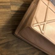 Dior Classic Rose Powder Pink Calf Leather Medium Diorama Bag GHW Lust4Labels 7