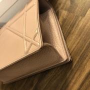 Dior Classic Rose Powder Pink Calf Leather Medium Diorama Bag GHW Lust4Labels 8