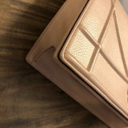 Dior Classic Rose Powder Pink Calf Leather Medium Diorama Bag GHW Lust4Labels 9