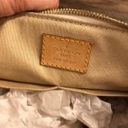 Louis Vuitton Damier Azur Canvas Leather Siracusa PM Shoulder Bag Lust4Labels 10