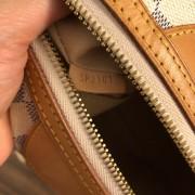 Louis Vuitton Damier Azur Canvas Leather Siracusa PM Shoulder Bag Lust4Labels 12