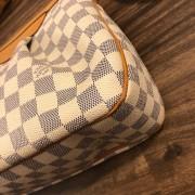 Louis Vuitton Damier Azur Canvas Leather Siracusa PM Shoulder Bag Lust4Labels 5