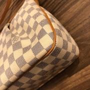 Louis Vuitton Damier Azur Canvas Leather Siracusa PM Shoulder Bag Lust4Labels 7