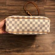 Louis Vuitton Damier Azur Canvas Leather Siracusa PM Shoulder Bag Lust4Labels 8