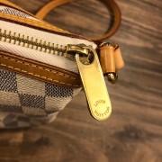 Louis Vuitton Damier Azur Canvas Leather Siracusa PM Shoulder Bag Lust4Labels 9