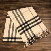 Burberry Classic Check Cashmere Beige Scarf Lust4Labels 2