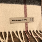 Burberry Classic Check Cashmere Beige Scarf Lust4Labels 3