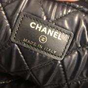 Chanel Classic Black Lamb Leather Le Boy Large O Case Clutch Lust4Labels 11