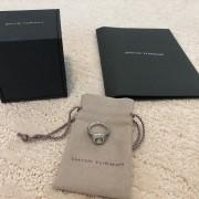 David Yurman Silver Petite Albion Ring Prasiolite and Pave Diamonds SZ 5 Lust4Labels 1
